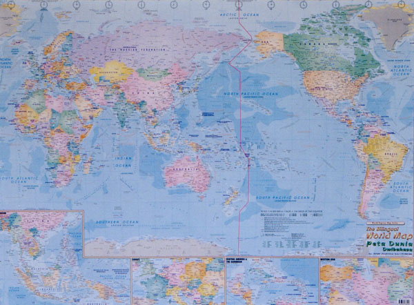 Mapco trading products services laminated hema nat geo world map classic pacific centre gumiabroncs Images